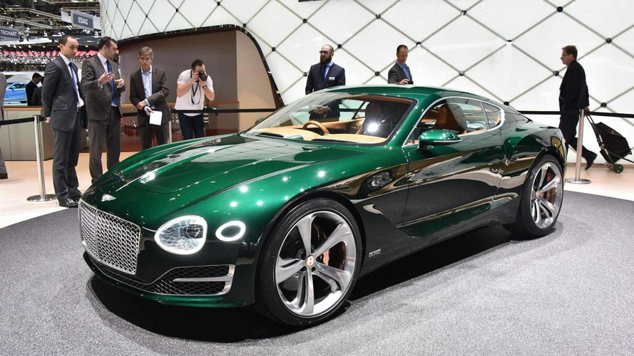 Bentley EXP 10 Speed 6 concept production decision close