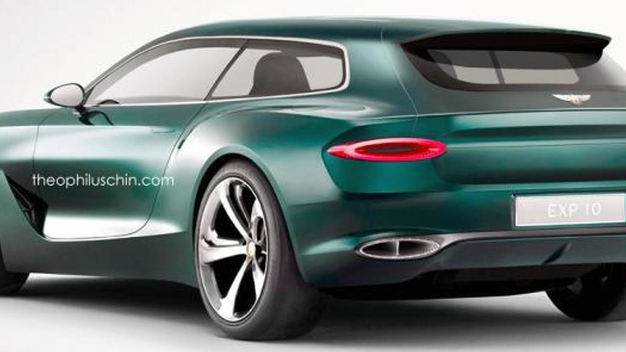 Bentley Exp 10 >> Bentley Exp 10 Speed 6 Concept Rendered Into A Shooting Brake