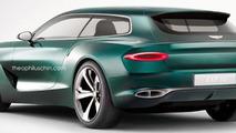 Bentley EXP 10 Speed 6 shooting brake render