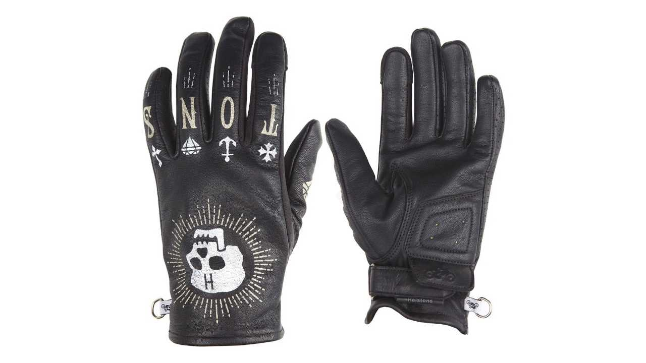 French Gear Manufacturer Helstons Launches Kustom Leather Gloves
