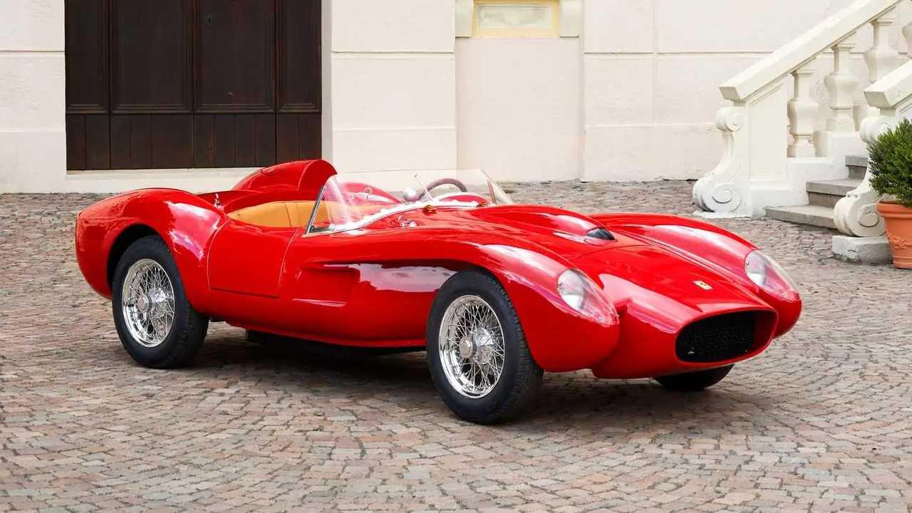 Ferrari Testa Rossa J three-quarter-scale replica of 1957 Ferrari 250 Testa Rossa.