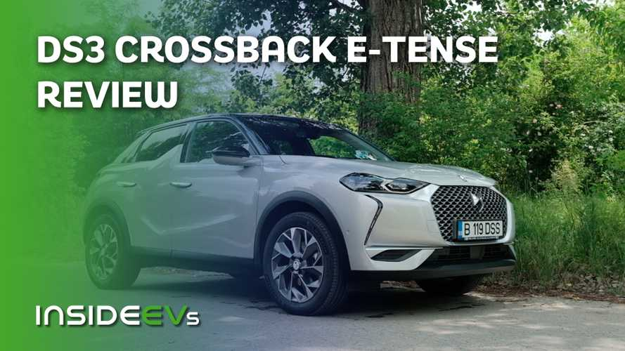 We Drive Europe's Oddest Looking EV, The DS3 Crossback E-Tense