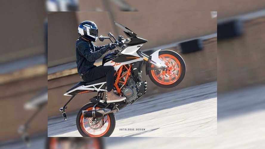 This Isn't A Road-Going KTM 390 Adventure, It's A Duke With A Kit