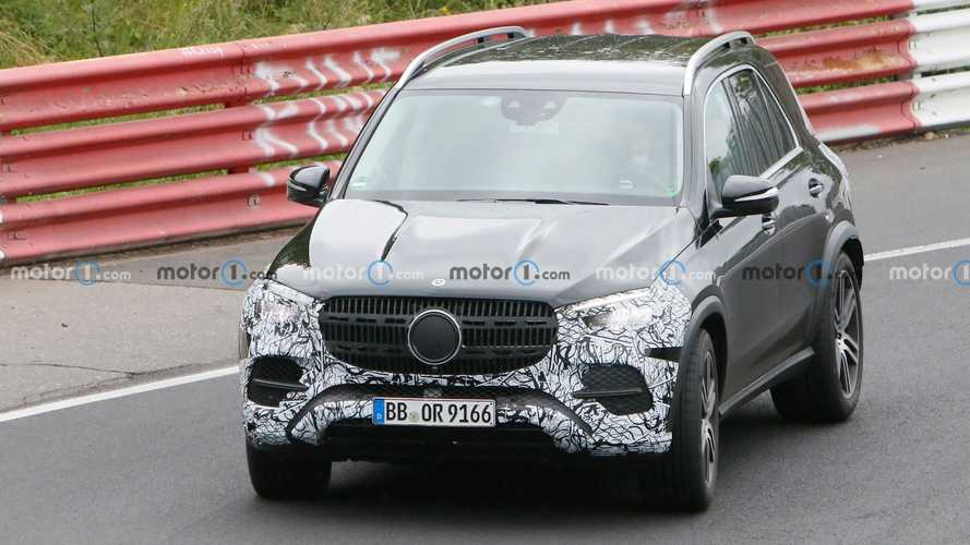 2023 Mercedes-Benz GLE-Class Spy Photos