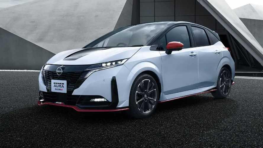 Nissan présente la Note Aura Nismo réservée au Japon