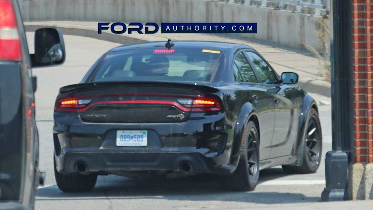 Ford Benchmarking Dodge Charger SRT Hellcat.