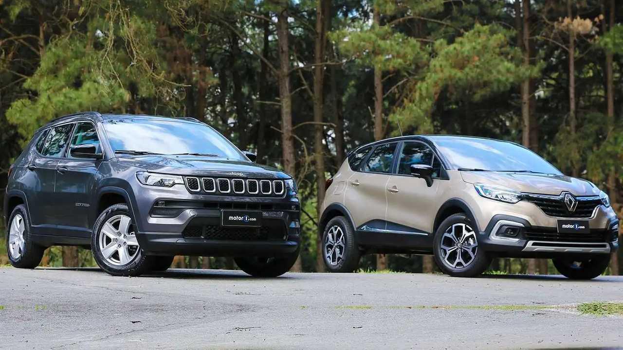 Jeep Compass Sport 2022 encara o Renault Captur 1.3 Turbo