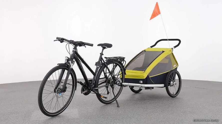 ADAC testet Fahrradanhänger & Lastenräder für Kinder