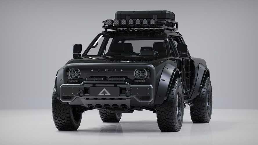 Alpha Motor Superwolf, el pick-up eléctrico del futuro