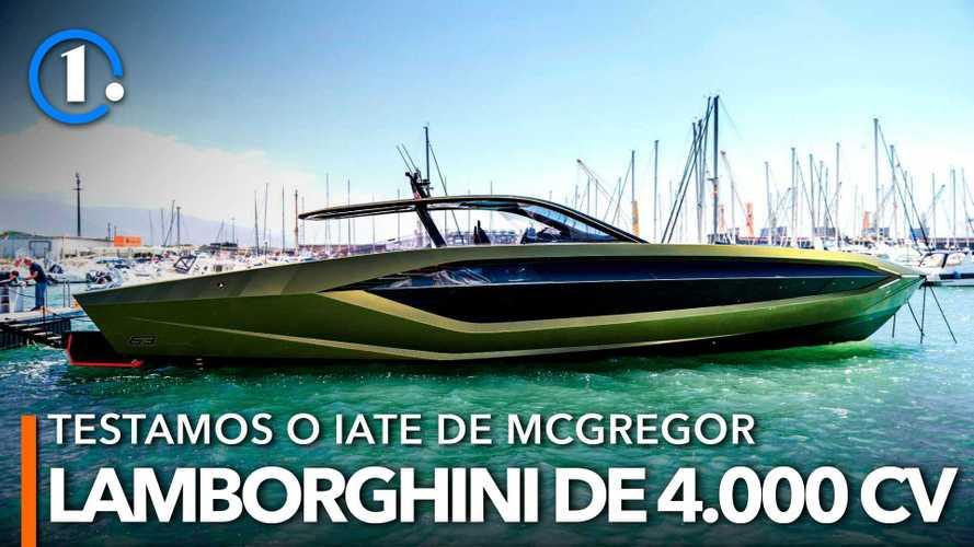 Teste Exclusivo Iate Tecnomar Lamborghini 63: monstro de 4.000 CV