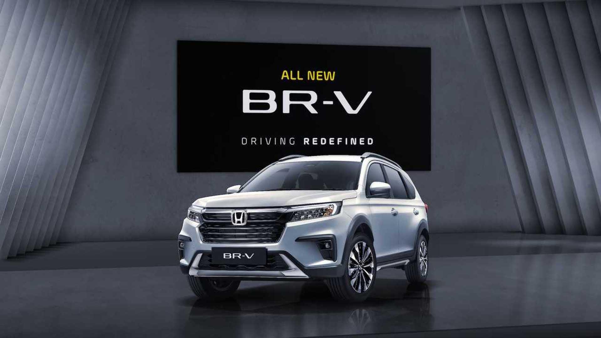 2021 Honda BR-V'nin örtüsü kaldırıldı!