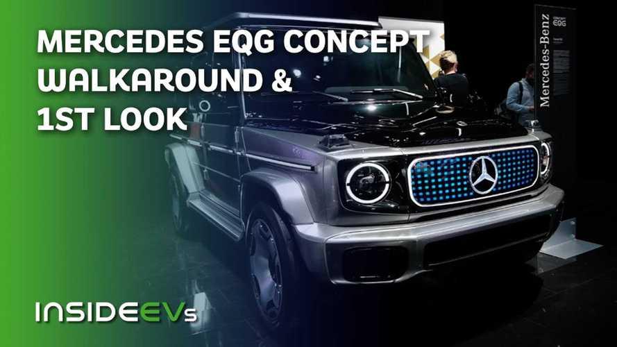 Watch Our Mercedes EQG Concept Walkaround At IAA 2021