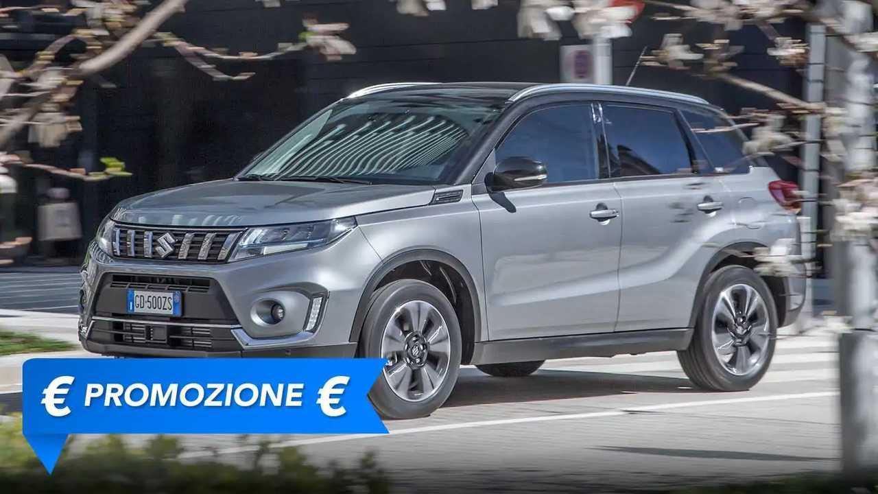 Suzuki Vitara Hybrid, la promozione di agosto 2021