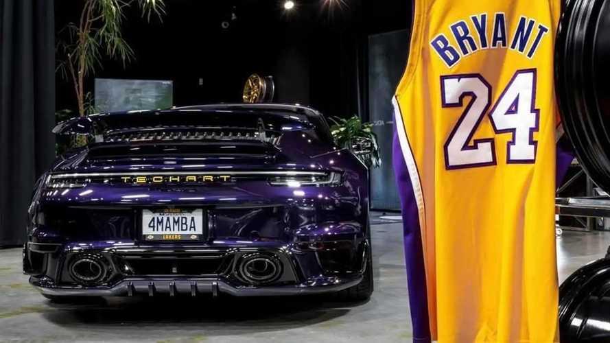Porsche 911 Ini untuk Hormati Kobe Bryant, Warna Ungu LA Lakers