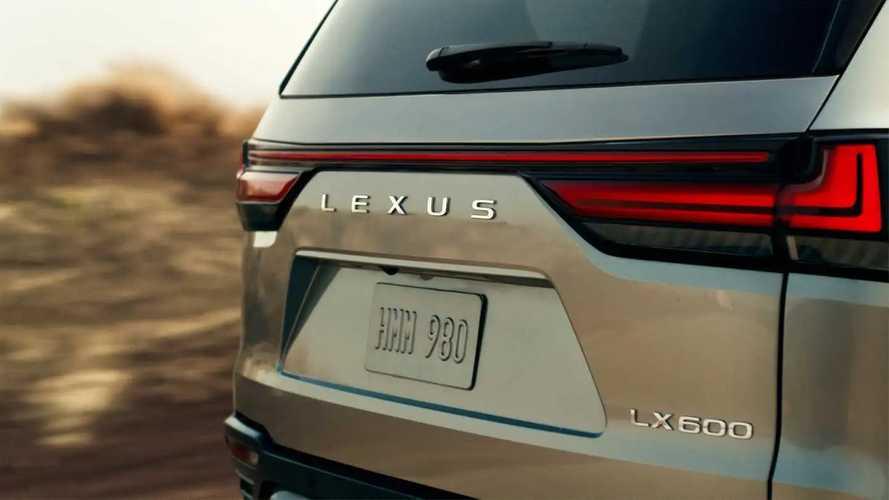Geç oldu, güç olmadı: 2021 Lexus LX sonunda geliyor