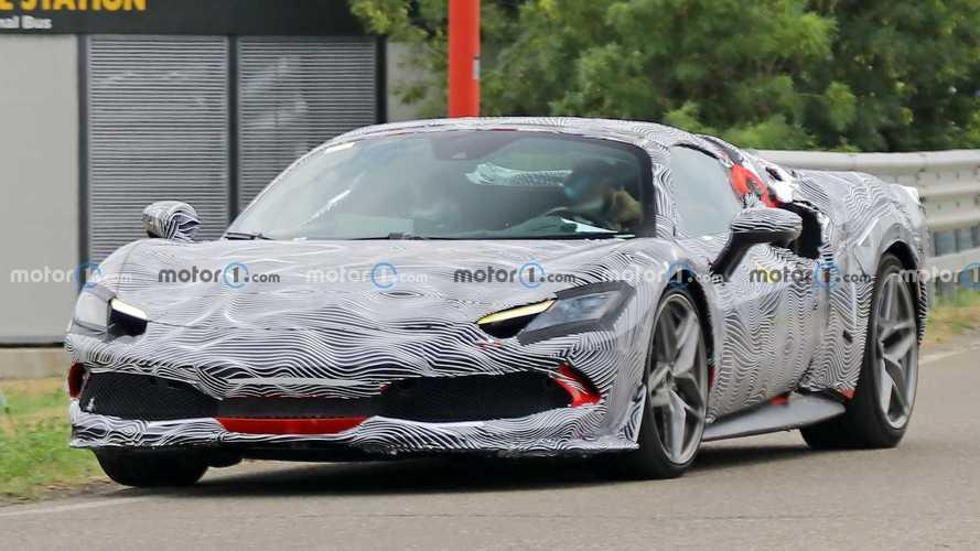 El Ferrari 296 GTS descapotable aparece en fotos espía