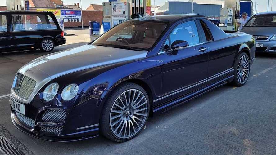 Bentley Flying Spur'ün pick-up dönüşümünü gördünüz mü?