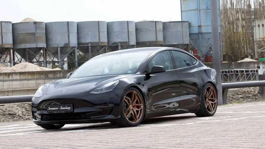 La Tesla Model 3 di Senner Tuning è più cattiva, e più efficiente