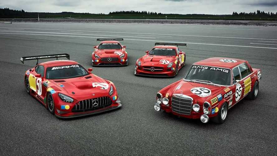 """Mercedes-AMG Rilis 3 Mobil Balap One-Off, Tribute untuk """"Red Pig"""""""