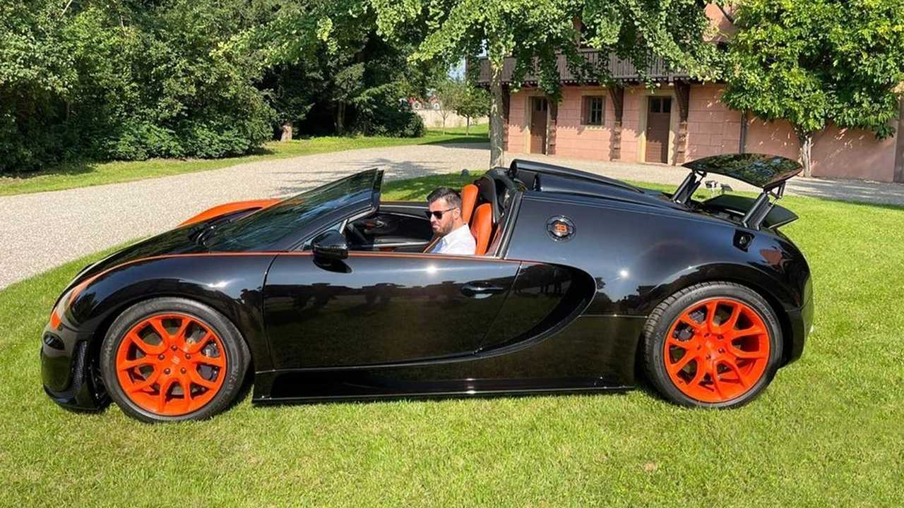 Mate Rimac visite Bugatti