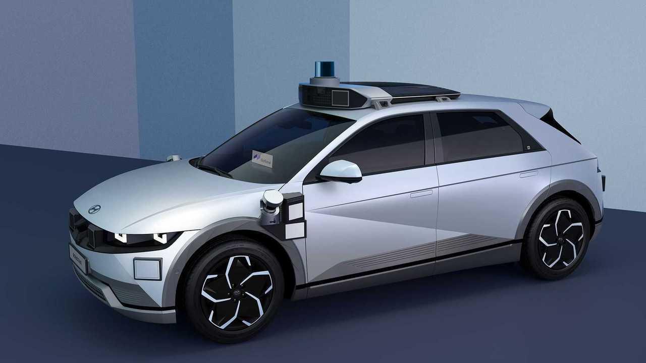 Hyundai Ioniq 5 als Robotaxi