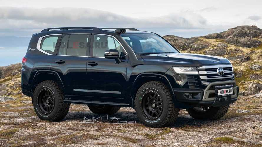 2022 Toyota Land Cruiser off-roader rendering looks like a profitable no-brainer