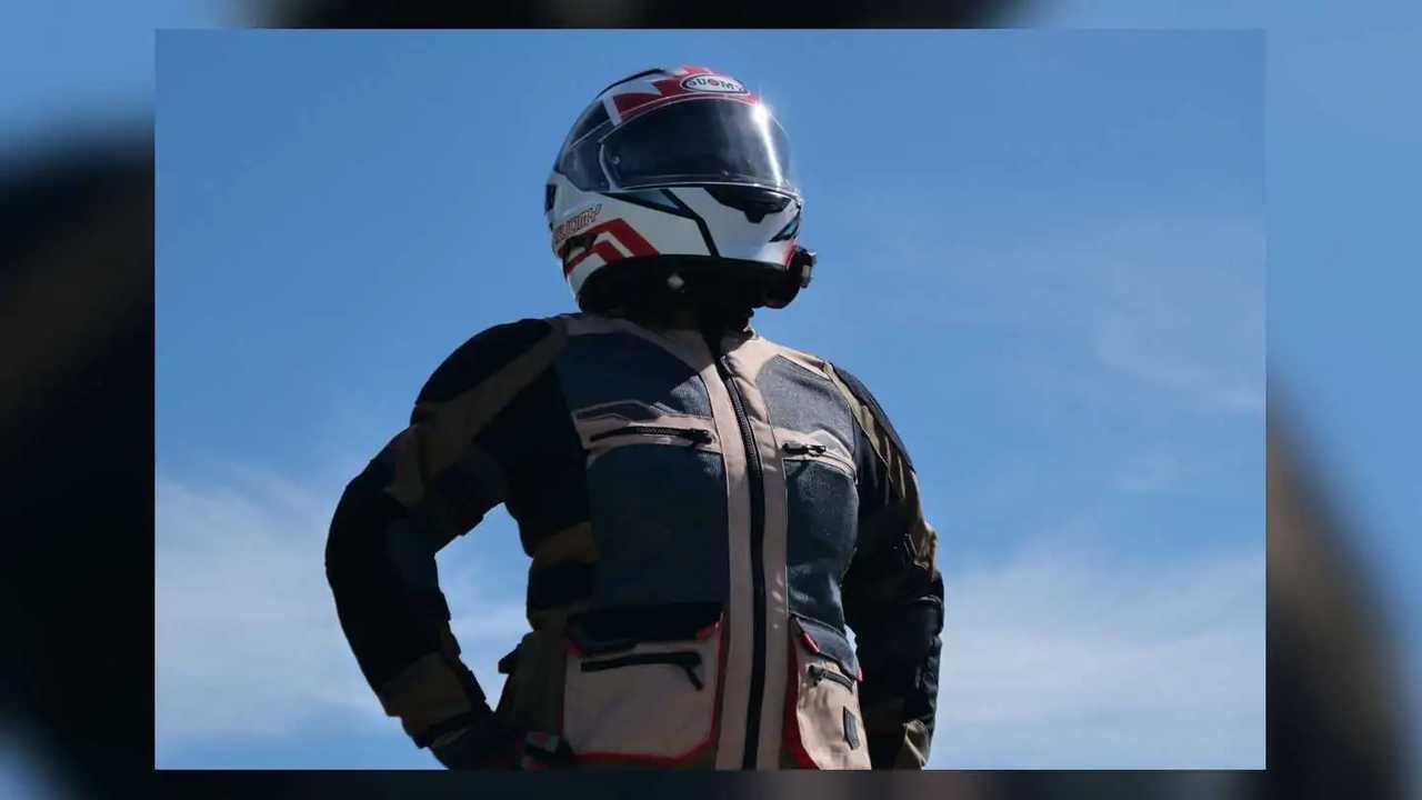 Tourmaster Horizon Line Ridgecrest Women's ADV Jacket - Blue Sky