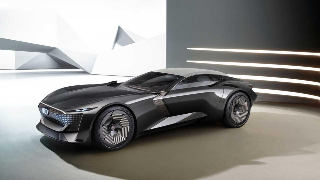 Audi Skysphere Is An Autonomous Electric Grand Tourer