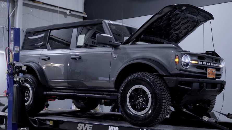 2021 Ford Bronco With Turbo Four-Cylinder Does A Dyno Run