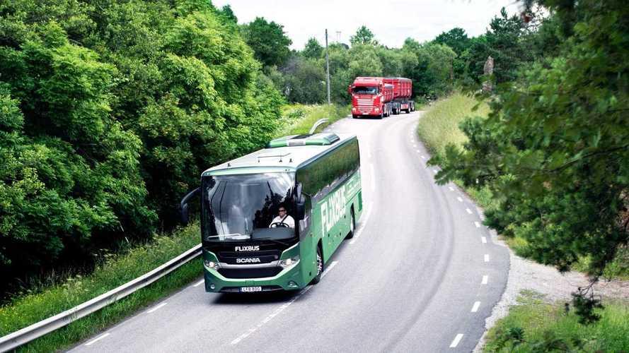 Scania, il primo autobus a lunga percorrenza alimentato a biogas
