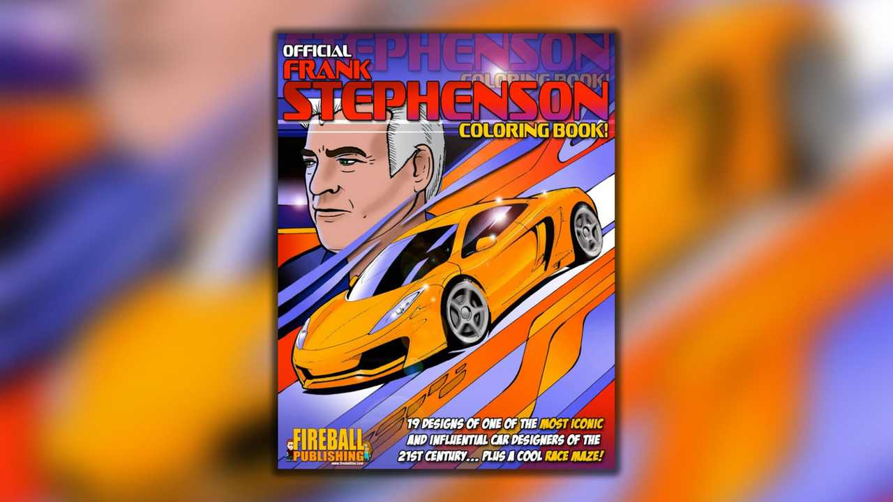 Official Frank Stephenson Coloring Book