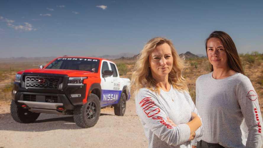 Nissan вернул знаменитую ливрею Hardbody для раллийного Frontier