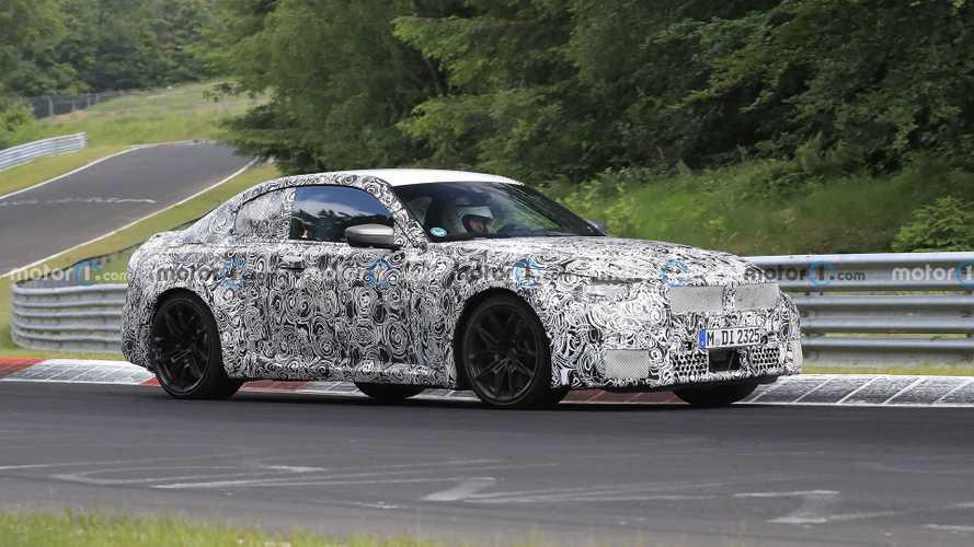 La BMW M2 poursuit ses entrainements au Nürburgring