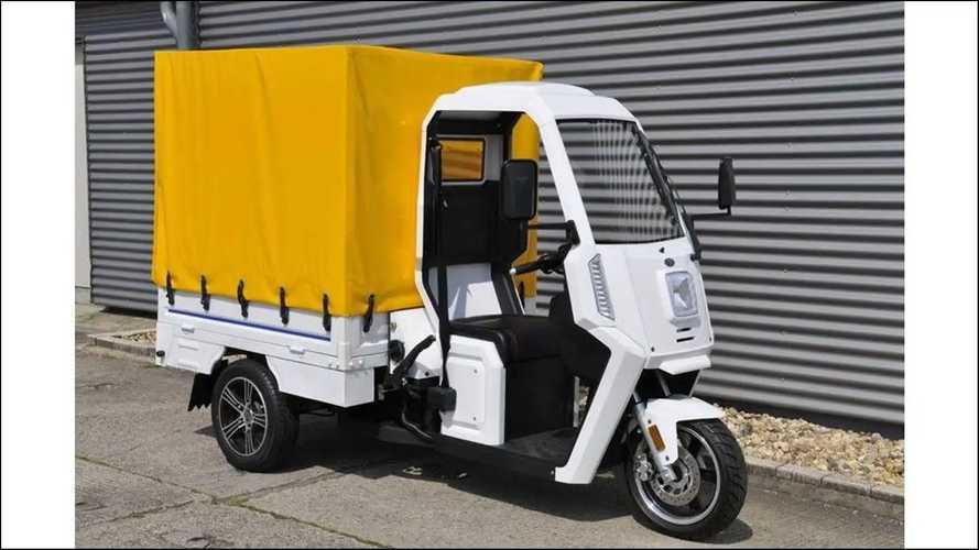 Ari 345: Dreirad im Stil der Piaggio Ape, aber mit Elektroantrieb