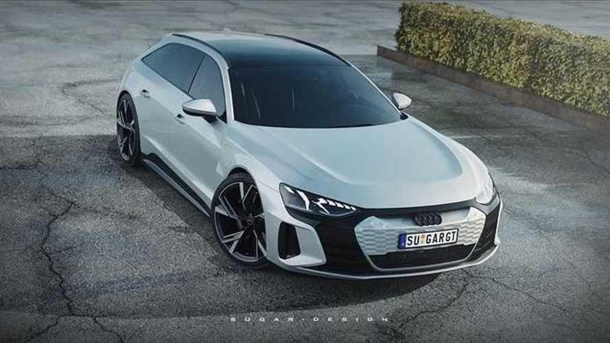 Quand l'Audi e-tron GT se transforme en break