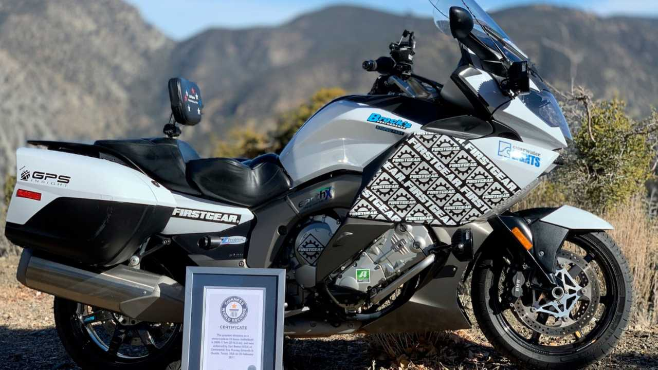 Carl Reese's Record-Setting BMW K1600GT