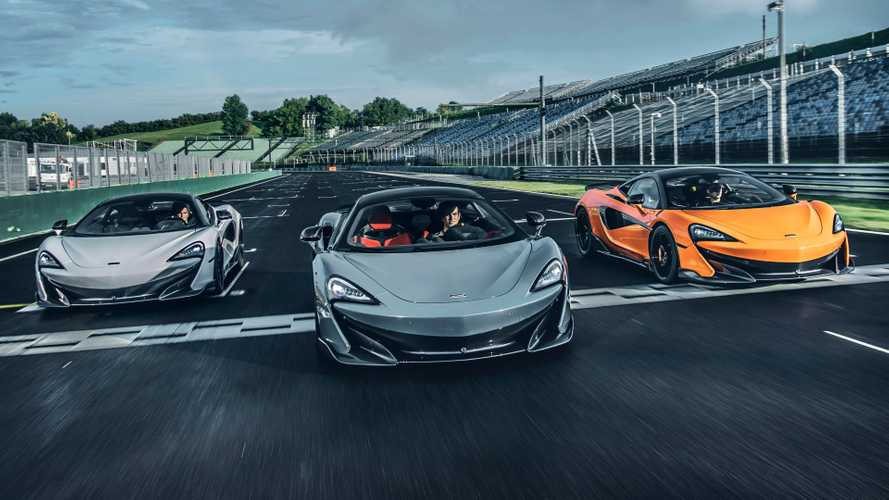 McLaren sales went up by almost half last year