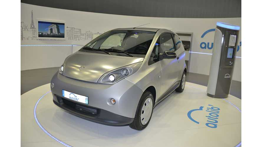 Bolloré to Clone Paris Carsharing Service Autolib With BlueLy Project in Lyon