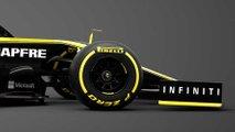 Renault RS19 Formula 1 car reveal photos