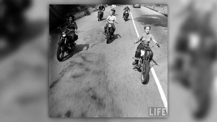 Check Out These Rad Lady Riders From 1949