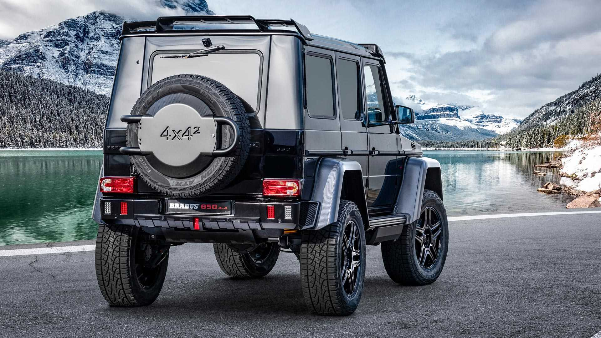 Brabus 850 4x4 Final Edition Gives Old Mercedes G Class 838 Hp