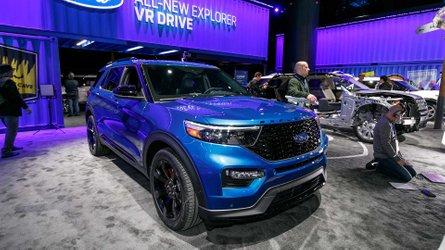 2019 Ford Explorer ST, 400 beygir gücüyle Detroit'te tanıtıldı