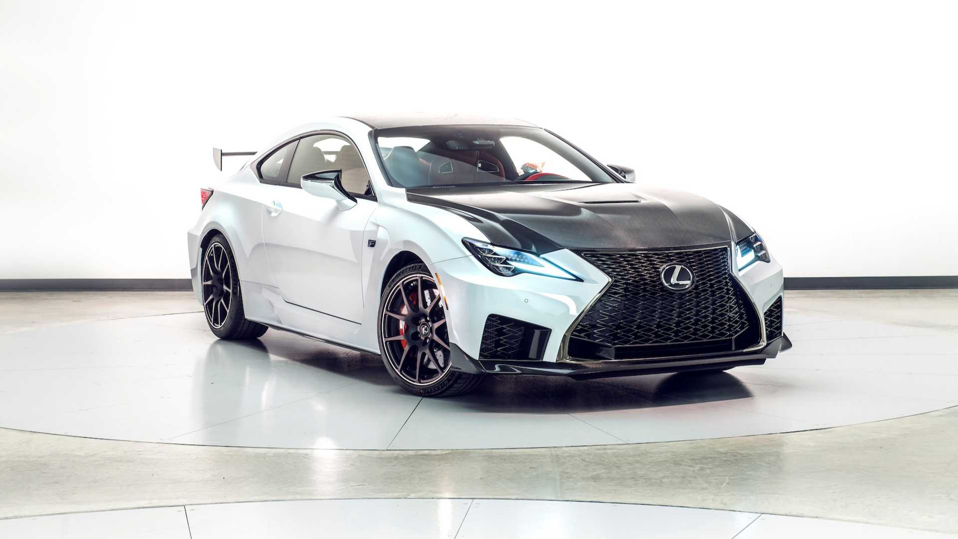 Lexus RC Facelift (2018) 47