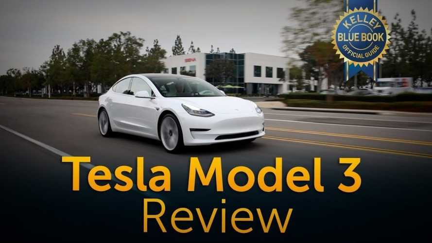 Kelley Blue Book: Tesla Model 3 Is In A Class Of 1: Video