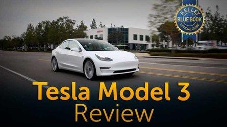 Kelley Blue Book: Tesla Model 3 Is In A Class Of 1: Video