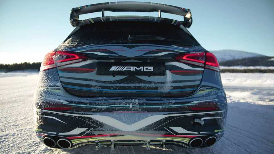 Mercedes-AMG A45 teaser