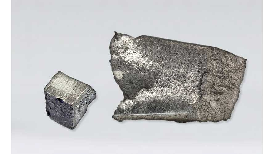 Large Amount Of Rare Earth Metal That Enhances EVs Found