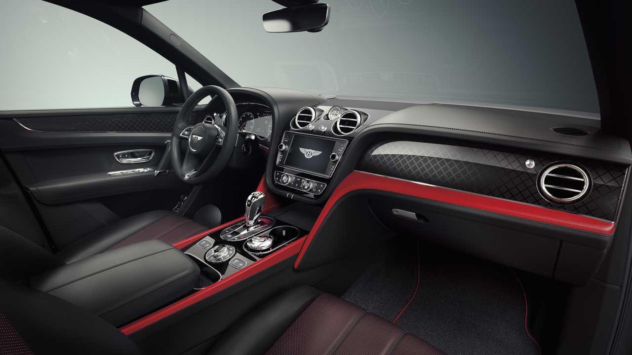 Bentley Bentayga Design Series Interior