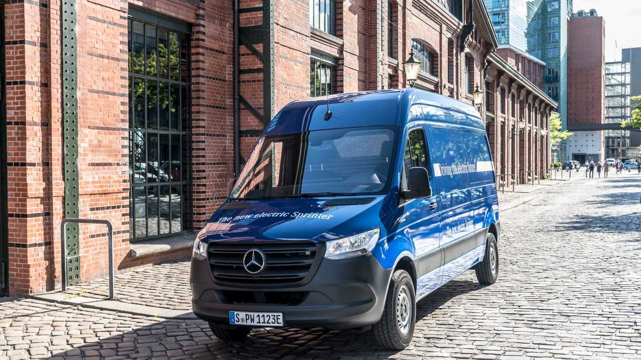 Mercedes-Benz eSprinter 2019