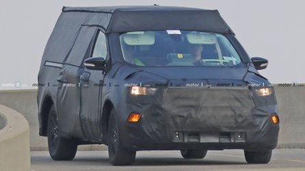 Ford Focus-Based Pickup Spied Under Heavy Camouflage